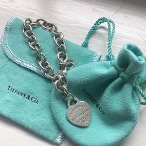 Real Tiffany's heart bracelet